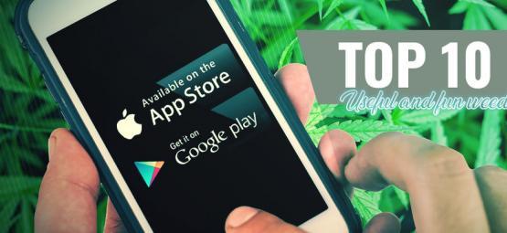 10 Applications Ludiques Et Pratiques Sur Le Cannabis