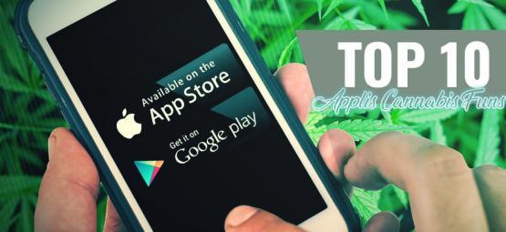 10 Applis Cannabis Funs Et Utiles Pour Android Et iOS  [MàJ 2021]
