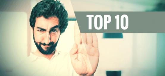 Top 10 Des Choses À Ne Pas Faire Sous Influence