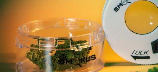 Stockez Votre Cannabis Comme Un Pro Avec Le Pot De Stockage Smokus Focus