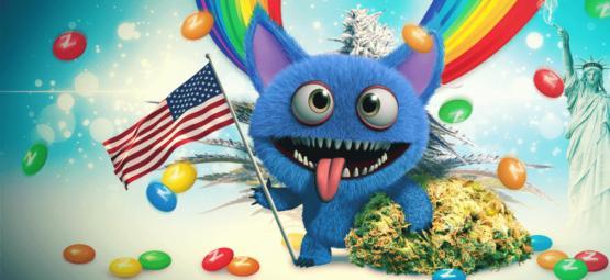 Monster Zkittlez : Quand Des Génétiques USA Extra S'unissent