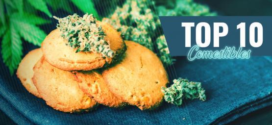 Top 10 Des Meilleurs Comestibles Au Cannabis D'Amsterdam
