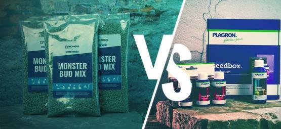 Comparaison Entre Nutriments Liquides Vs Nutriments En Granulés