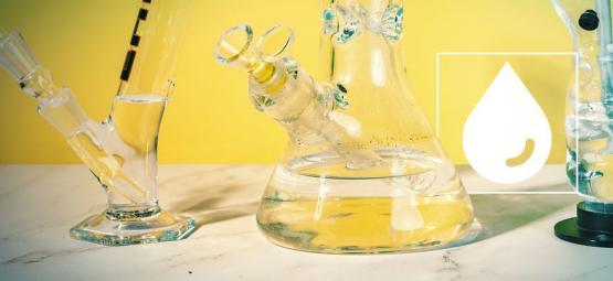 L'eau D'un Bang Filtre-T-Elle Le THC ?