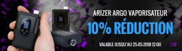 Offre Arizer Go