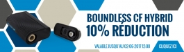 10% Réduction Boundless CF Hybrid