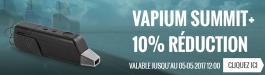 10% Réduction Vapium Summit+