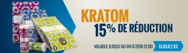 15% Réduction Kratom