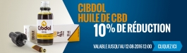 10% Réduction Cibdol