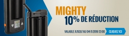 10% Réduction MIGHTY