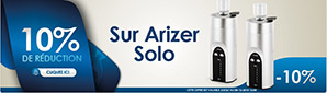 10% Réduction Arizer Solo