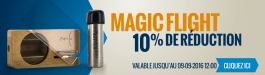10% Réduction Magic Flight Launch Box