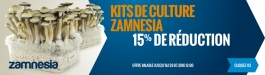 15% Réduction Kits Culture Zamnesia