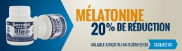 20% Réduction Mélatonine