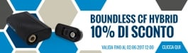 10% Di Sconto Boundless CF Hybrid